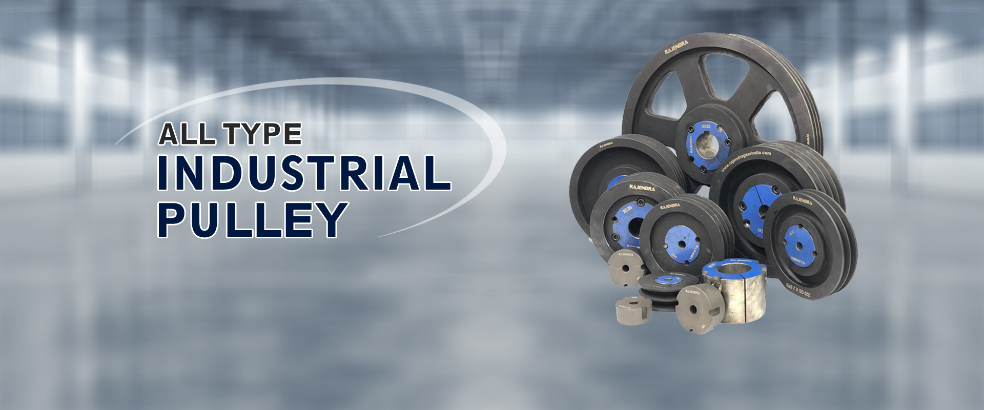 All Type Industrial Pulley Manufacturer, Supplier and Exporter in Ahmedabad, Gujarat, India